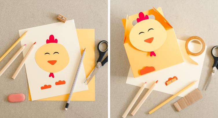 Pollo icona cartoon fattoria degli animali design grafica
