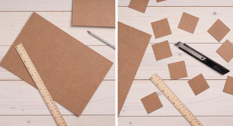Crea il tuo gioco da tavolo con cartone riciclato